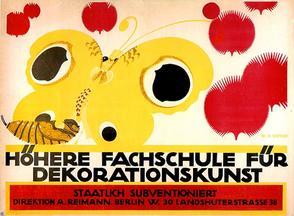 poster by Wilhelm Deffke, 1912