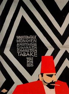poster by Fritz Heubner, 1920